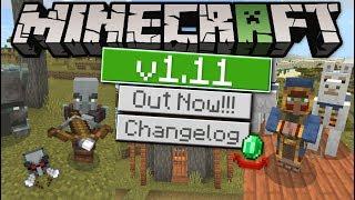 Minecraft - 1.11 OUT NOW ! VILLAGE & PILLAGE ! [ Changelog ] MCPE / Xbox / Bedrock / Switch