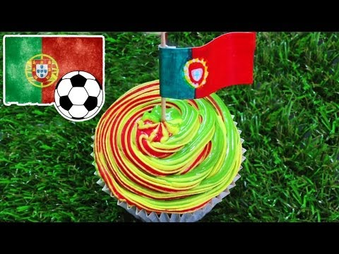 Fifa World Cup 2014 Recipes   World Cupcake Portugal