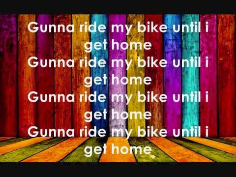 The bike song with lyrics - Mark Ronson