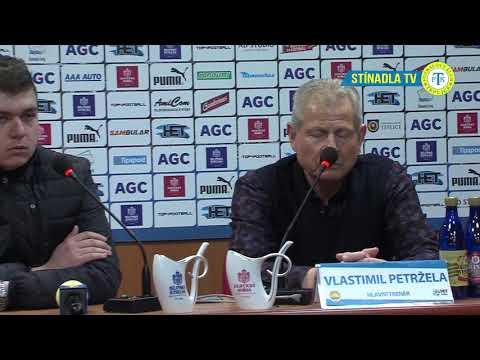 Tisková konference hostujícího trenéra po zápase Teplice - Zlín (10.3.2018)