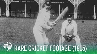 Test Match of 1905 - Very Rare Cricket Footage