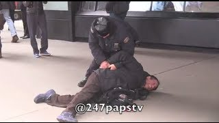 cops, Steve Sands Celebrity Photographer Arrested!!!Cries!!! in NYC  2/5/13