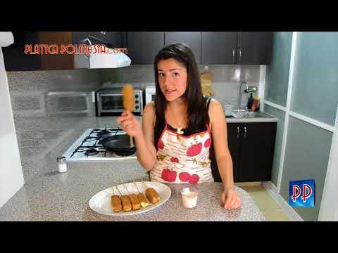 Palitos de queso | Receta para hacer brochetas de queso | Aperitivos y botanas para fiesta