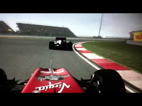 Codemasters F1 CHINA 2011 real damage mod.