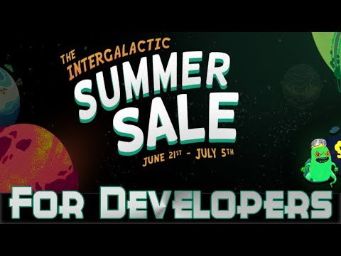 Steam Summer Sale For Game Developers 2018 Edition!