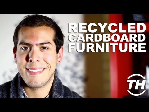 Recycled Cardboard Furniture - Michael Hemsworth Discusses Eco-Friendly Christmas Gifts