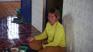 Cambodian People at Countryside Khmer Village News New 2019 outside Phnom Penh