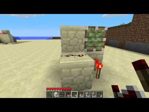 Minecraft - Les MDC #36 Le pousseur de blocs (2)