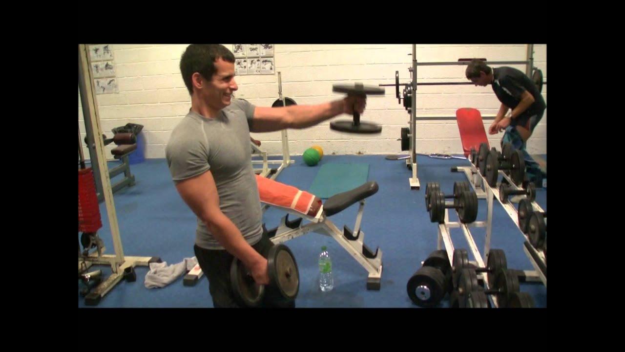 Exercice de musculation avec halt re youtube - Exercice de musculation avec banc ...