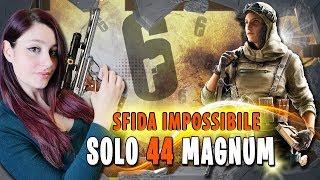 SOLO NUOVA 44 MAGNUM CHALLENGE con reaction HOT ad un full team! Rainbow Six