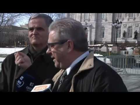 Point de presse à Québec - Grande mobilisation citoyenne contre l'euthanasie le 18 mai.