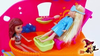 Polly Pocket y Kerstie Van al Salon de Belleza