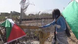 Thumb Gente disfrazada como los Na'vi de Avatar protestaron en Bil'in Palestina