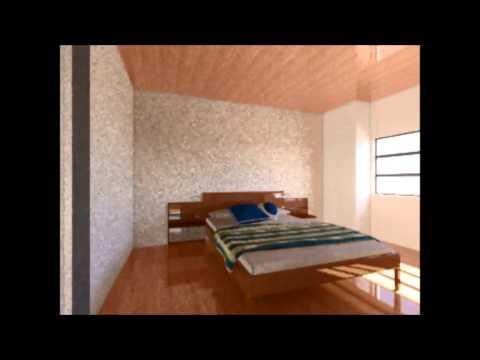 Render interior y exterior de una vivienda en Bogotá