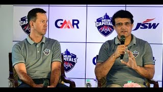 IPL 2019: Rapid Fire with Sourav Ganguly & Ricky Ponting At Delhi Capitals Press Conference in Delhi