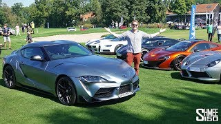 I Took My Supra to the CRAZIEST Supercar Event!