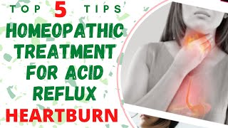 Homeopathic Treatment For Acid Reflux