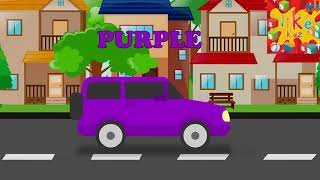 Likekidz colors | Learn Colours Name with car | Colors Names for Kidz | Colours for Children/ Kidz
