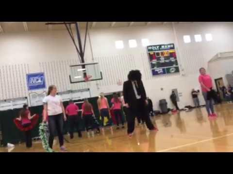 Holy Name High School Junior lip sync 2014