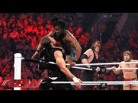 Team Hell No & Kofi Kingston vs. The Shield - Six-Man Tag Team Match: Raw, May 20, 2013