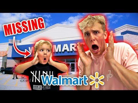 I LOST MINI JAKE PAUL IN WALMART!! *help*
