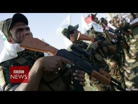 """A Shia militia group League of the Righteous has told the BBC that militant forces in Iraq, including Isis, are """"terrified"""" of them. The BBC's Jeremy Bowen meets members of the group, which..."""