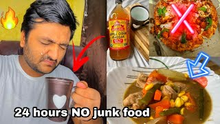 Healthy food for 24 hours || 24hours NO junk Food || Healthy Food challenge ???? ||
