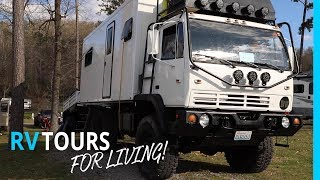 RV TOURS FOR FULL-TIME LIVING & WORKING AT RVE SUMMIT (KYD 156)