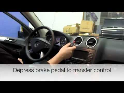 Mercedes SmartKey Starter (TM) Remote Start from car system installation