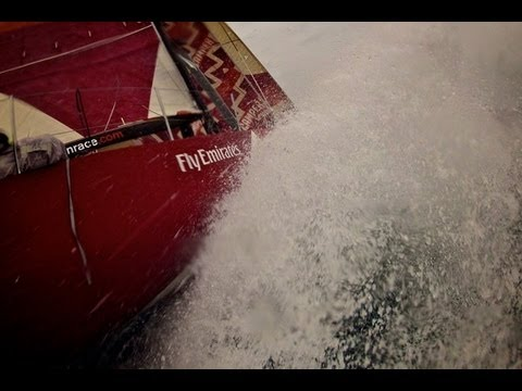 CAMPER Avoids Whale Collision - Volvo Ocean Race 2011-12