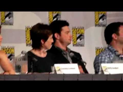 Smallville 2010 Comic Con Panel Tom Welling Video