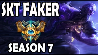 FAKER plays RYZE vs A Korean Challenger LEBLANC Season 7