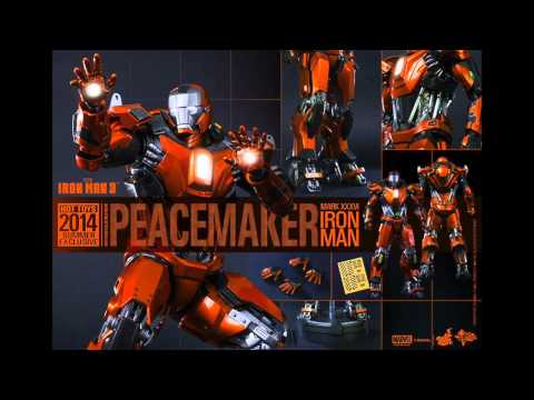 Iron Man 3 Hot Toys Mark XXXVI PeaceMaker 1/6 Scale Movie Figure Pics & Details!