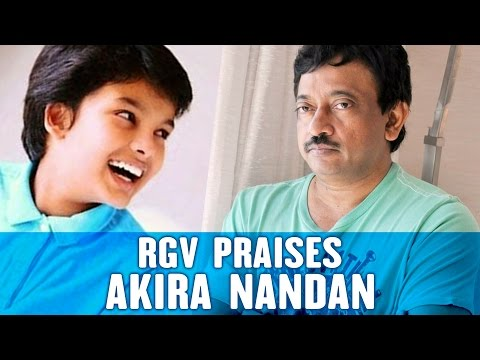 RGV's Sensational Comments On Pawan Kalyan's Son | Akira Nandan