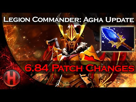 6.84 Patch Changes Dota 2 - Legion Commander Aghanim's Scepter Update