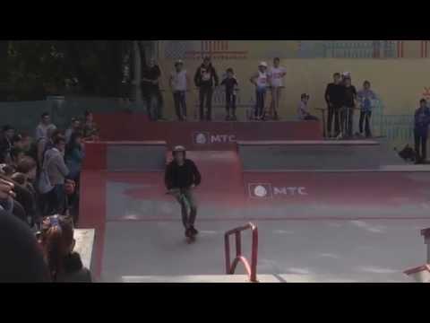 20150906 Максим Геккер, kick scooter, МТС #WOWMOSCOW контест ВДНХ