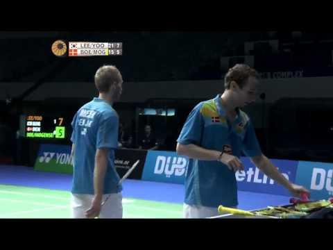 SF - 2014 Dubai Superseries Finals - Lee Yong Dae-Yoo Yeon Seong vs Mathias Boe-Carsten Mogensen