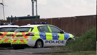 Police in Formby Explosive Scare