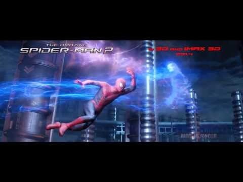 《蜘蛛俠2:決戰電魔》港版正式預告片(HD)The Amazing Spider-Man 2 Official Trailer HK(MarvelHKFansClub)