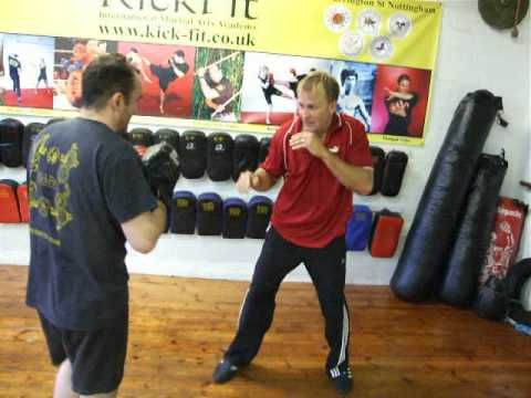 Filipino Panantukan (Dirty Boxing) Drill1,Jeet Kune Do class Kickfit Nottingham,UK Image 1