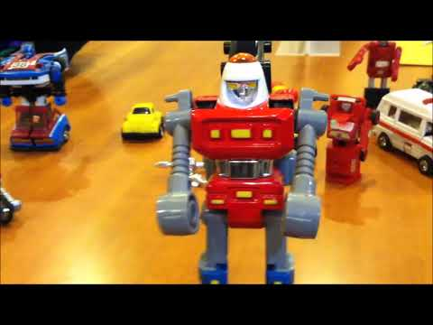 Transformers vs Super GoBots Cy-Kill - MIKE PLAYS WITH VINTAGE TOYS #69