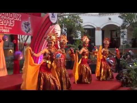 Tari Puspa Wresti Kreasi, JUARA 1 Lomba Tari Tradisional Kreasi, @ Lawang Sewu, 26 Oktober 2015