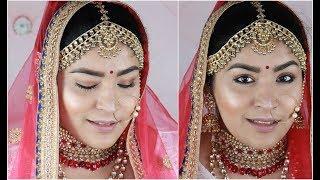 Anushka Sharma Wedding Inspired Makeup Tutorial | Minimalist Bride | Shreya Jain