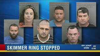 6 arrested in connection to credit card skimming scheme in Tampa Bay