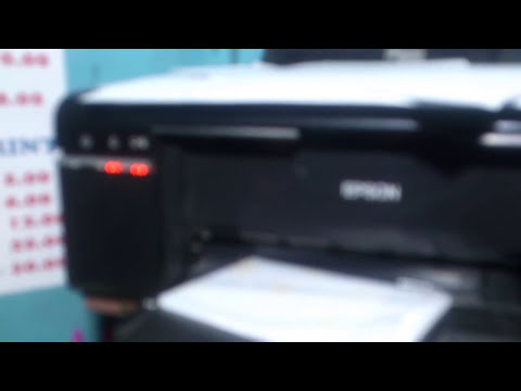 Fix Epson Stylus Photo  6 Colors Printer General Error Problem