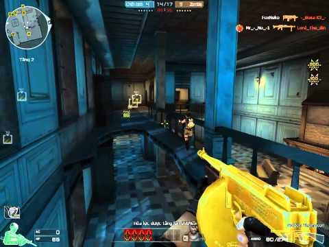 CrossFire VN - Thompson Gold (Zombie V4)