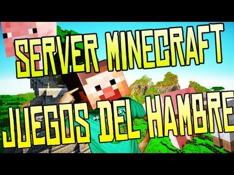 Minecraft Server Juegos Del Hambre - 1.6.4 No Premium (Hunger Games) Aleatorio