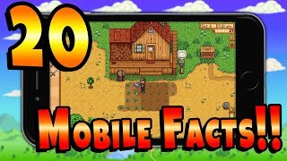 20 Quick Facts About Stardew Valley Mobile You Want To Know!