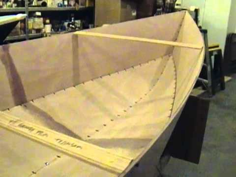 Tango Skiff XL Stitch and Glue Okoume Wooden Boat - YouTube
