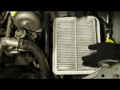 Checking and Changing An Air Filter
